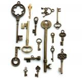 Ключи всех размеров и цветов