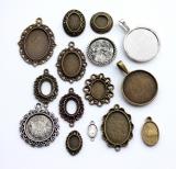 Рамки овальные и круглые