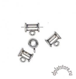 Бейл туба серебро 925 1 шт