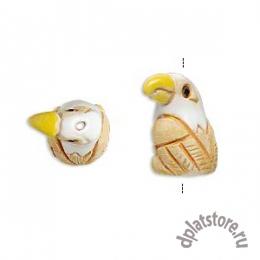 Бусина орел керамика 1 шт