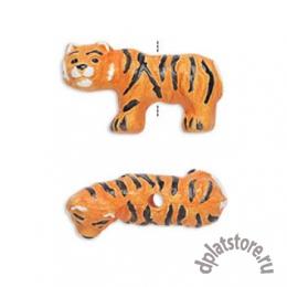 Бусина тигр керамика 1 шт