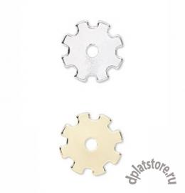 Декоративный элемент шестеренка 15 мм 1 шт