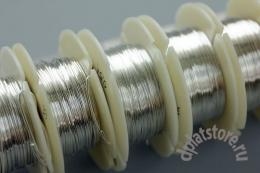 Проволока серебряная 925 пр. цена за 10 см
