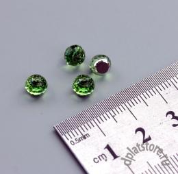Кристаллы swarovski faceted ball peridot 6 мм 1 шт