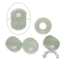 Бусина зеленый авантюрин пандора 1 шт