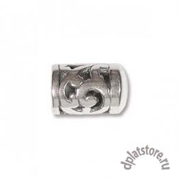 Ограничитель с завитками серебро 925 1 шт