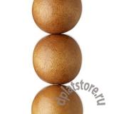 Бусина дерево светло-коричневый 20 мм 1 шт
