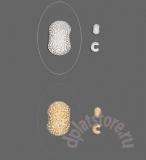Покрытие кримпов для бус позолота звездчатые 10 шт