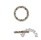 Филигранный элемент кольцо 16 мм 1 шт