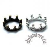 Декоративная корона простая 1 шт