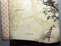 """Бумага """"Африка - Жирафы"""" 1 лист"""