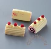 Миниатюрный торт рулет 1 шт