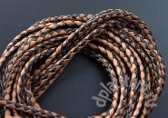 Шнур плетеный натуральная кожа 89 см