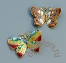 Подвеска бабочка клуазоне 1 шт