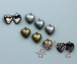 Кулон открывающееся сердце малое 1 шт