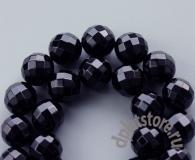 Оникс черный шар огранка 1 шт