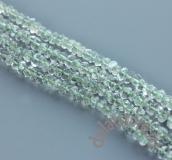 Зеленый кварц рондель нить