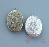 Открывающийся медальон с рисунком 1 шт