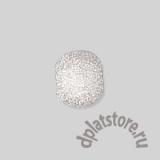 Бусина звездчатая серебро 925 8 мм 1 шт