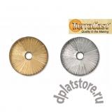 Чашечки для бусин диски TierraCast®